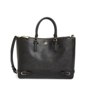 Tory Burch Saffiano Leather Robinson Multi Tote